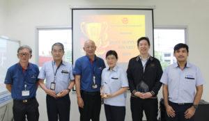 """บริษัท คาวามาตะ อินโนเวชั่น (ประเทศไทย) จำกัด รับโล่เกียรติคุณ  """"BEST SUPPLIER AWARD 2019"""" จากบริษัท TOYODA GOSEI (THAILAND) CO., LTD."""