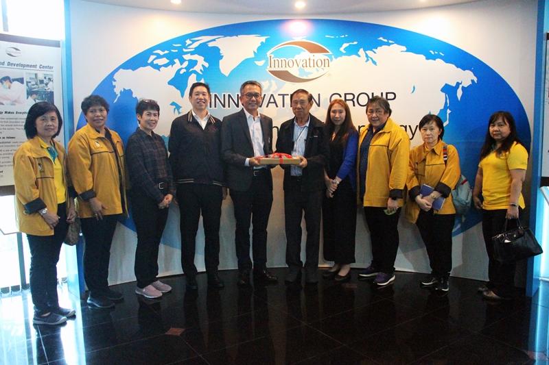 การยางแห่งประเทศไทยเยี่ยมชมศูนย์วิจัยและเทคโนโลยีของกลุ่มบริษัทอินโนเวชั่น